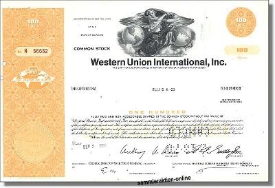 Western Union International Inc.