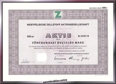 Westfälische Zellstoff AG