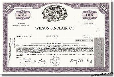 Wilson Sinclair Co.