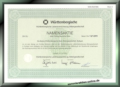 Württembergische Lebensversicherung AG