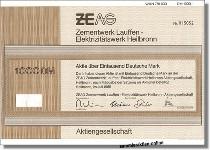 ZEAG Zementwerk Lauffen - Elektrizitätswerk Heilbronn