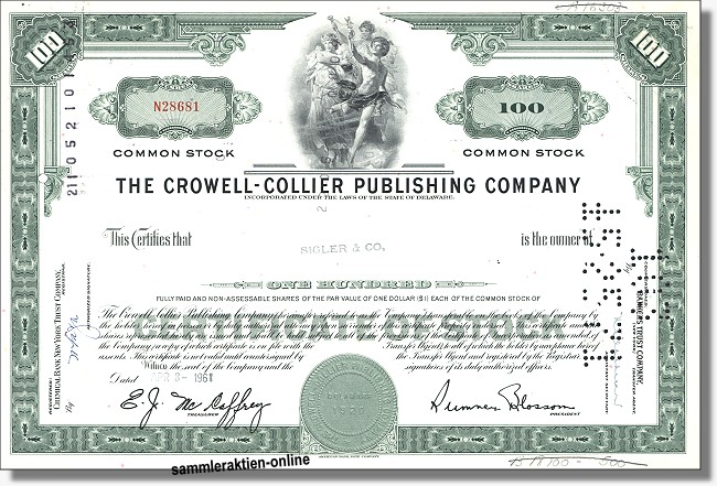 Crowell Collier Publishing Company