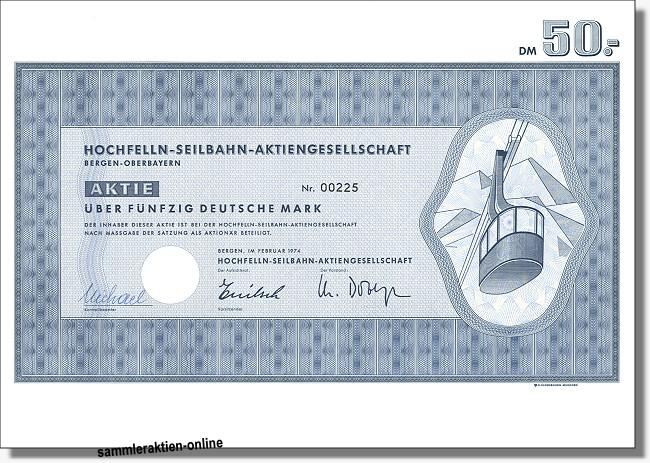 Hochfelln-Seilbahn-Aktiengesellschaft