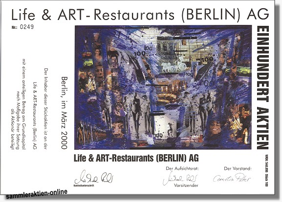 Life & Art Restaurants Berlin AG
