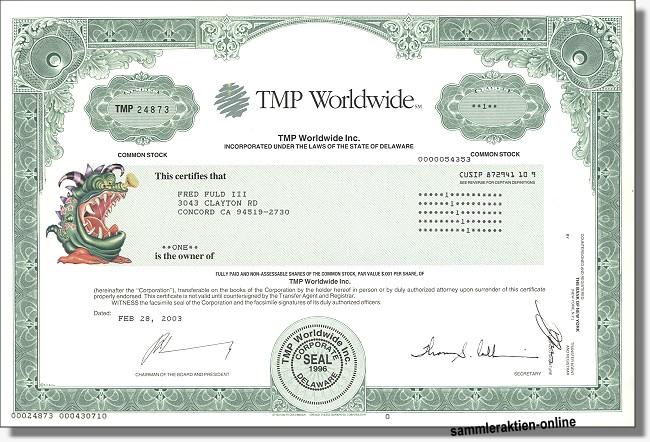 TMP Worldwide Inc.