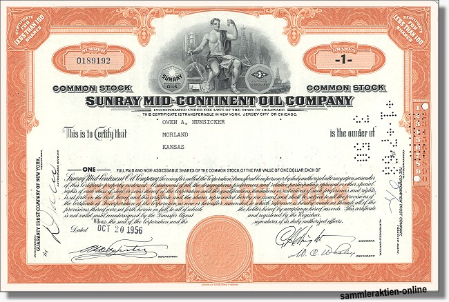 Sunray Mid-Continent Oil Company
