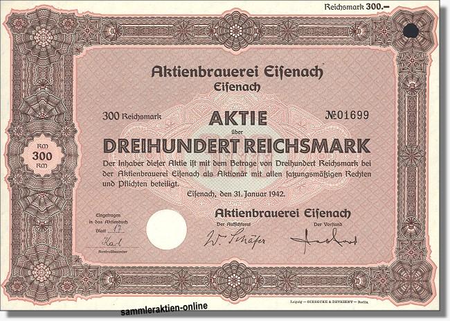 Aktienbrauerei Eisenach