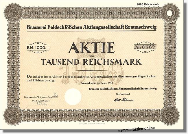 Brauerei Feldschlößchen AG