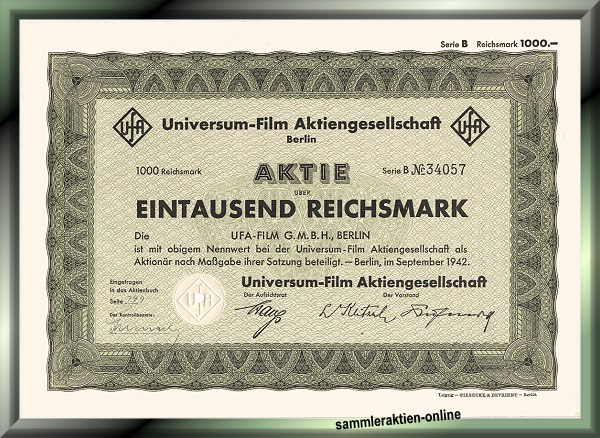 UFA Universum-Film Aktiengesellschaft