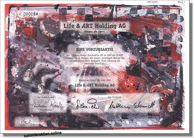 Life & Art Holding AG