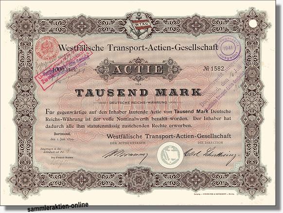 Westfälische Transport-Actien-Gesellschaft WTAG