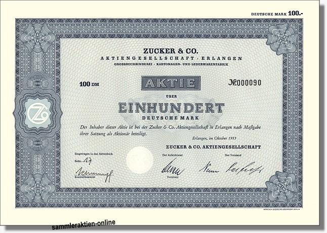 Zucker & Co. AG