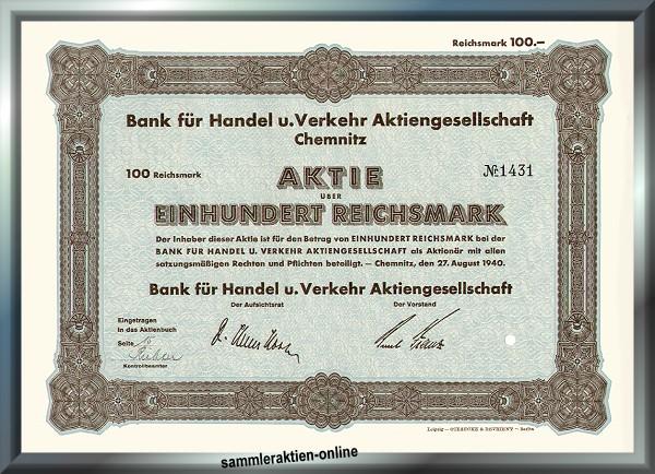 Bank für Handel und Verkehr AG