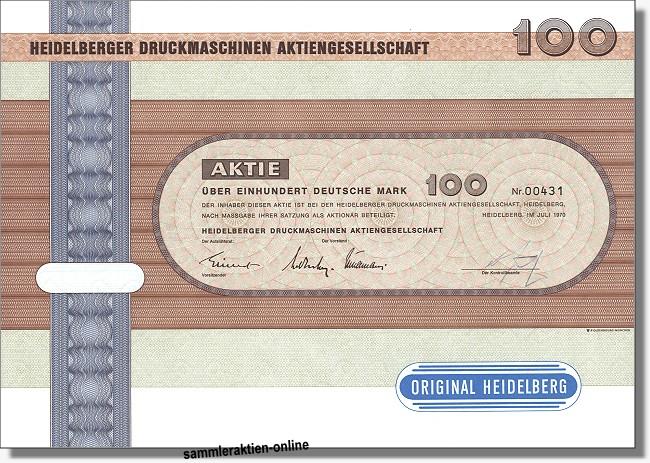 Heidelberger Druckmaschinen AG