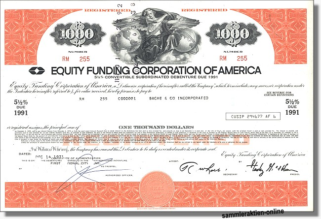 Equity Funding Corporation of America