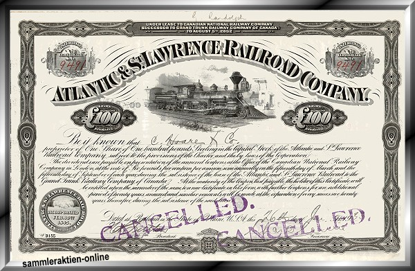 Atlantic & St. Lawrence Railroad Company