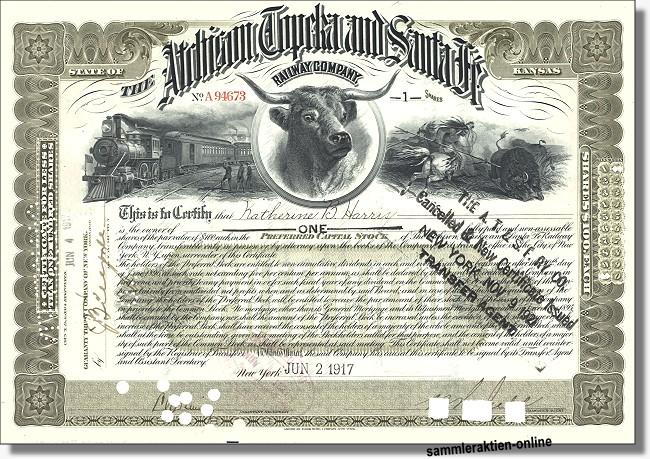 Atchison, Topeka and Santa Fe Railroad Company