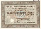 Kammgarnspinnerei Stöhr & Co. Aktiengesellschaft
