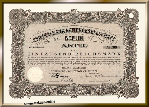 Centralbank Aktiengesellschaft