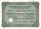 Berliner Kraft- und Licht Aktiengesellschaft - BEWAG AG