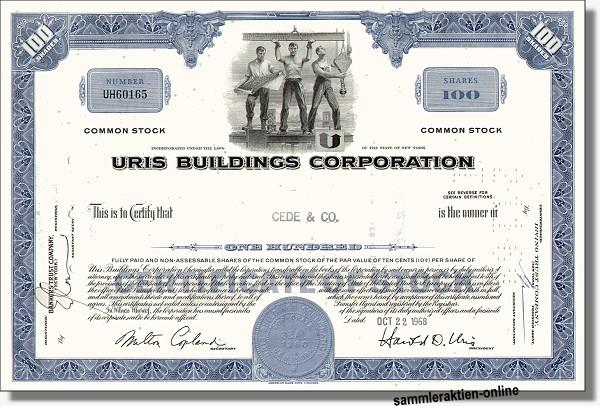 Uris Buildings Corporation