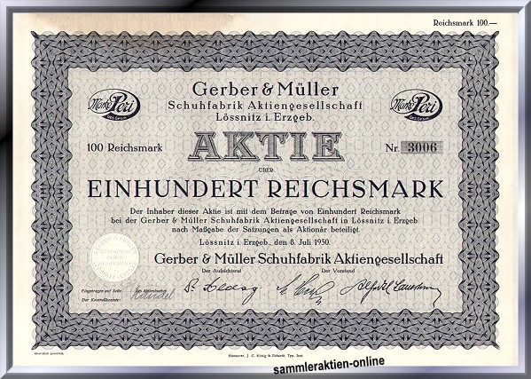 Gerber & Müller Schuhfabrik AG
