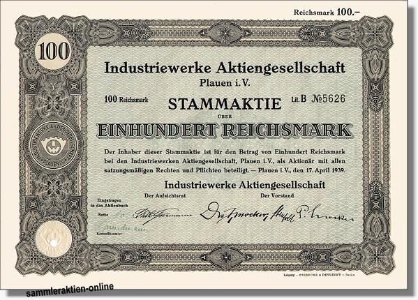 Industriewerke Aktiengesellschaft