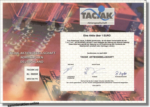 Taciak AG