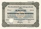 Maschinenfabrik Kappel AG
