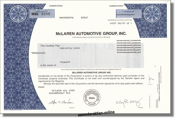 McLaren Automotive Group