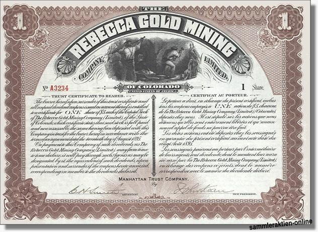 Rebecca Gold Mining