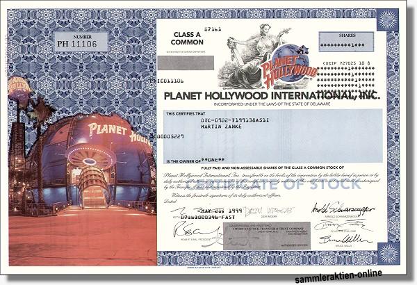 Planet Hollywood Inc.