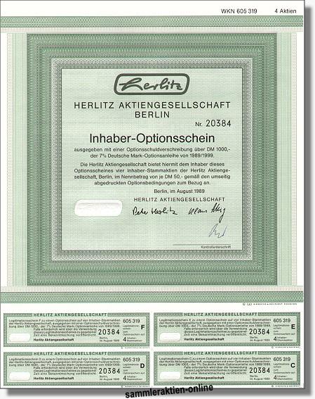 Herlitz Aktiengesellschaft, jetzt Pelikan AG