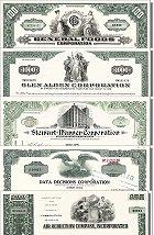 Geschenkset Wirtschaft und Industrie<br>USA Nr.12  - 5 div. Papiere