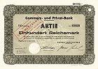 Commerz- und Privatbank AG, Commerzbank