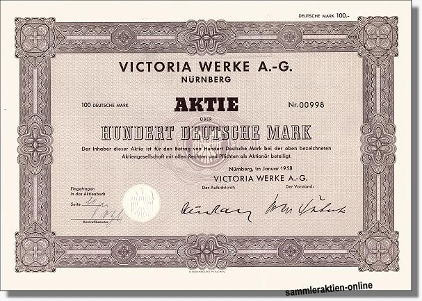 Victoria-Werke AG - Fichtel & Sachs