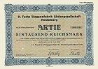 H. Fuchs Waggonfabrik AG