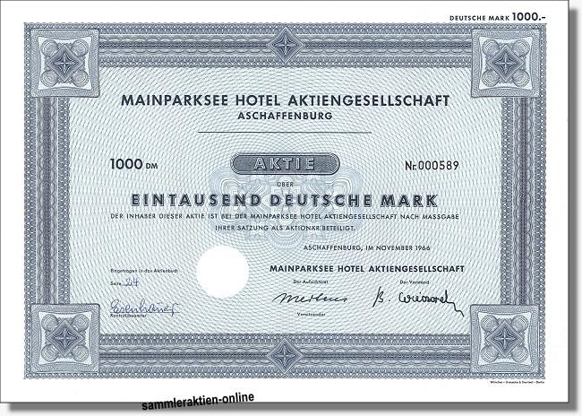 Mainparksee Hotel AG
