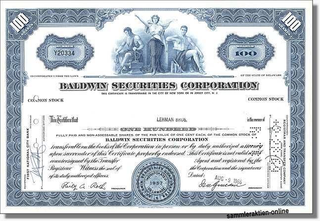 Baldwin Securities Corporation