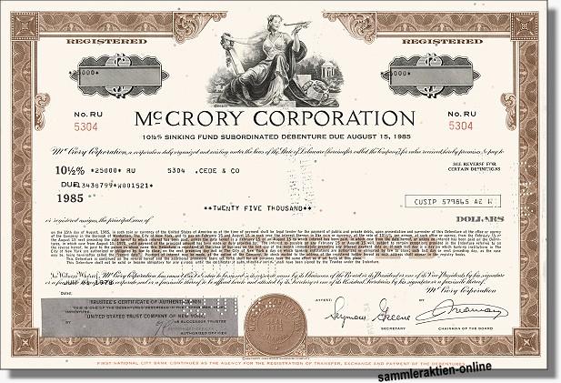 Mc Crory Corporation