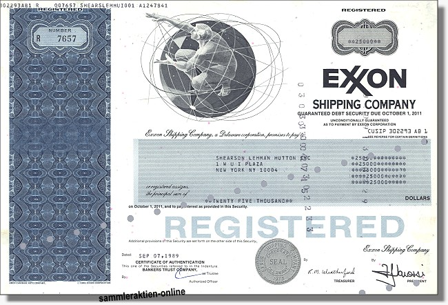 Exxon Shipping Company