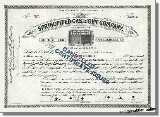 Springfield Gas Light Company