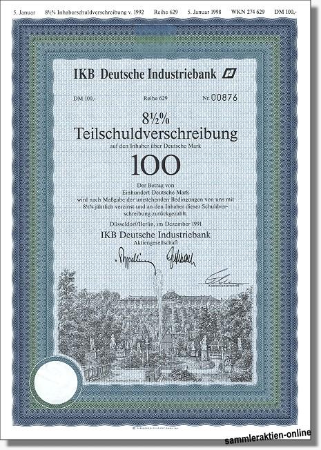 IKB Deutsche Industriebank AG