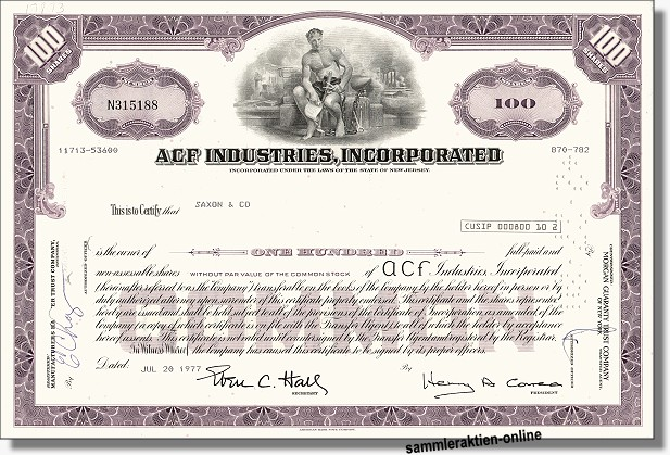 ACF Industries Incorporated