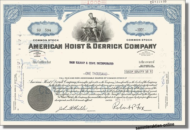 American Hoist & Derrick Company