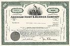 American Hoist & Derrick Company