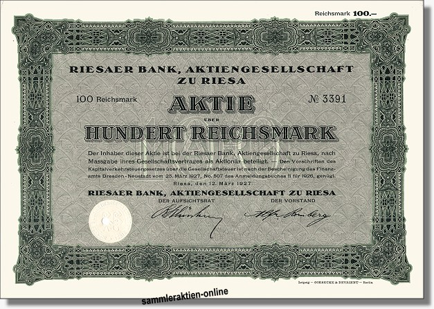 Riesaer Bank AG