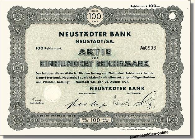 Neustädter Bank AG