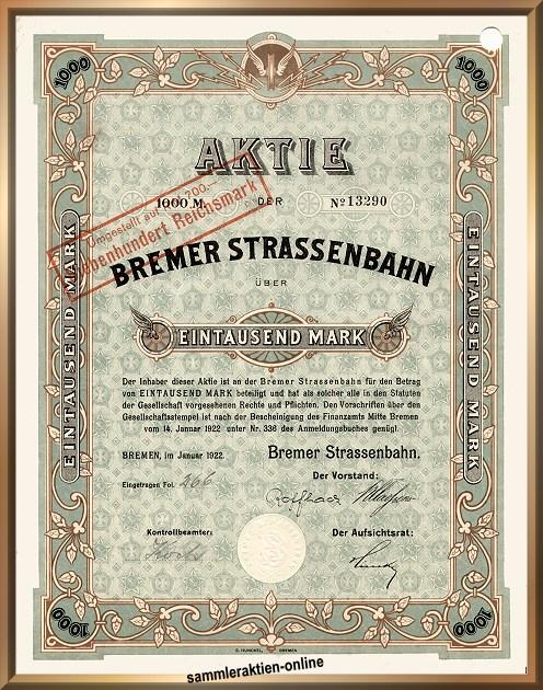 Bremer Strassenbahn AG