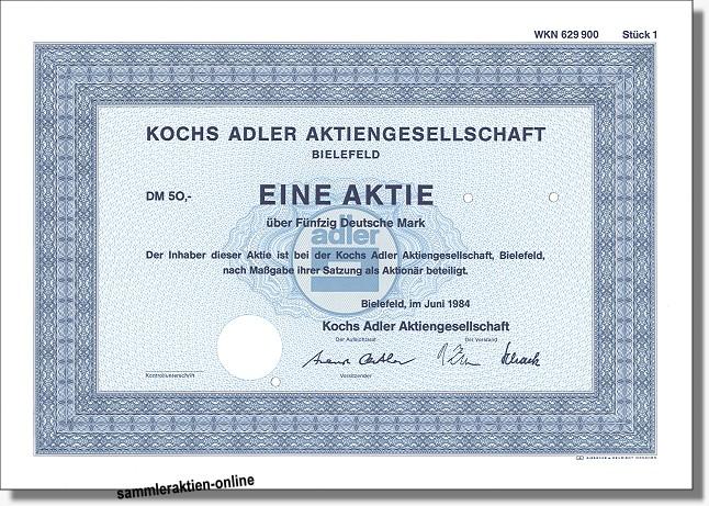 Kochs Adler Aktiengesellschaft